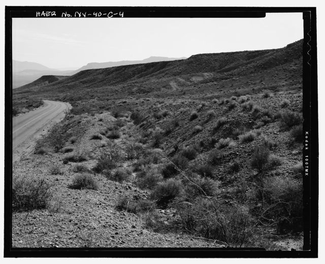 Route No. 1 Overton-Lake Mead Road, Dikes & Ditches, Between Overton Beach & Park Boundary, Overton, Clark County, NV