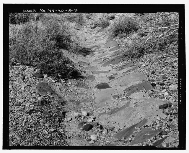 Route No. 1, Overton-Lake Mead Road, Gutters, 6 miles south of Overton, Overton, Clark County, NV