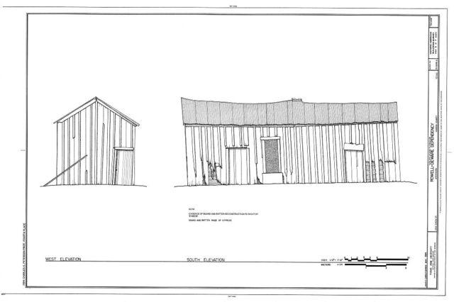 Rowell Deware Dependency, 202 Dixon Street, Jefferson, Marion County, TX