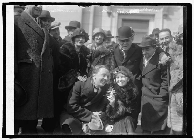 Roxy and gang at Union Station, [Washington, D.C.], 3/6/25