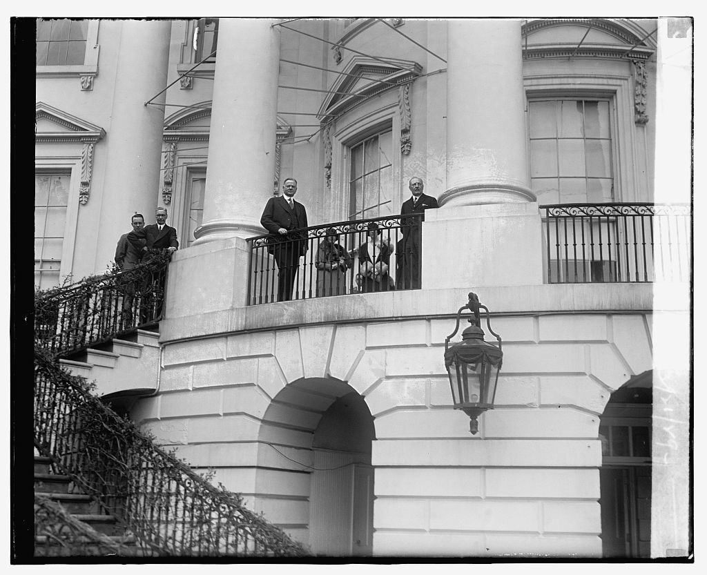 Royal Belgian Band at White House, 3/21/29