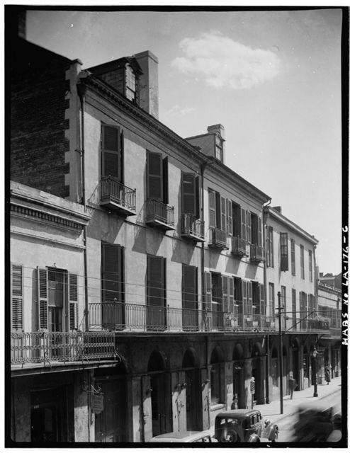 Royal Street (Commercial Buildings), New Orleans, Orleans Parish, LA
