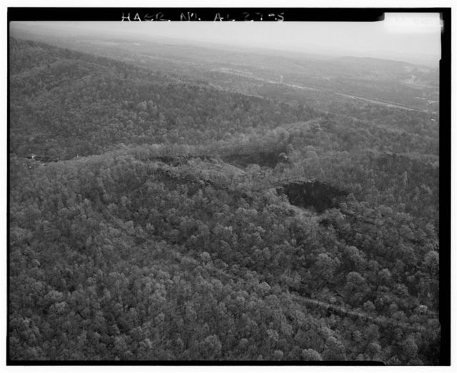 Ruffner Red Ore Mine, North of I-20 at Madrid Exit, Birmingham, Jefferson County, AL