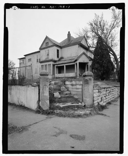 Rufus K. Allen House, 305 South Fifteenth Street, Saint Joseph, Buchanan County, MO