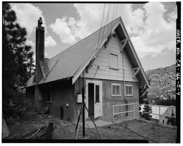Rush Creek Hydroelectric System, Worker Cottage, Rush Creek, June Lake, Mono County, CA