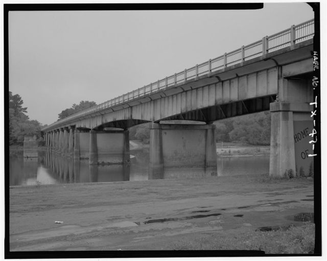 Sabine River Bridge, Spanning Sabine River at U.S. Route 84, Joaquin, Shelby County, TX
