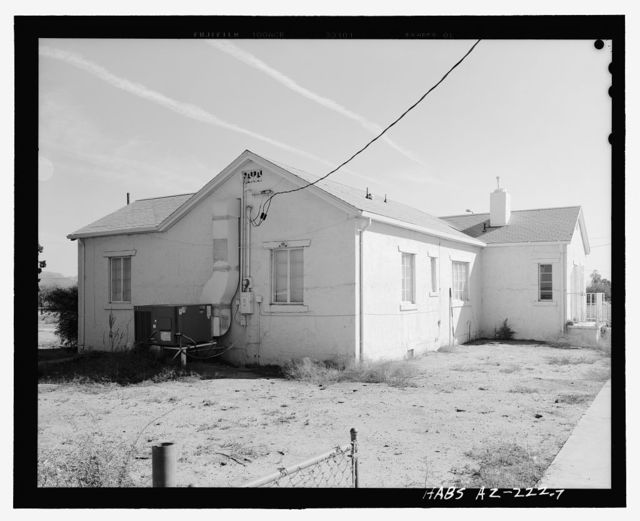 Sacaton Hospital Residence, 315 West Casa Blanca Road, Sacaton, Pinal County, AZ