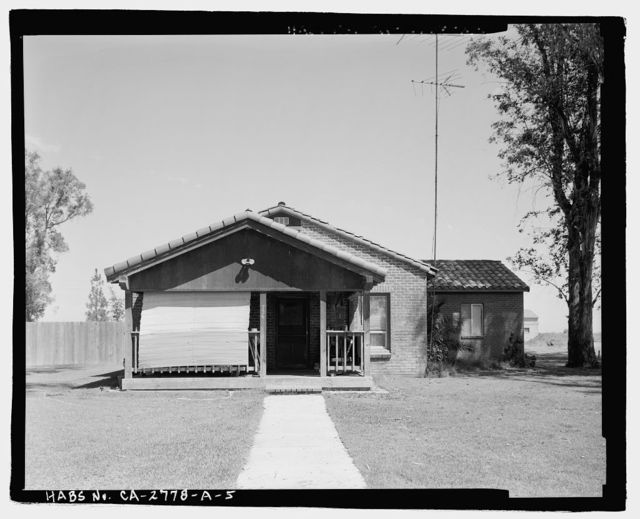 Sacramento National Wildlife Refuge, Headquarters Complex, Quarters No. 2, 752 County Road 99W, Willows, Glenn County, CA