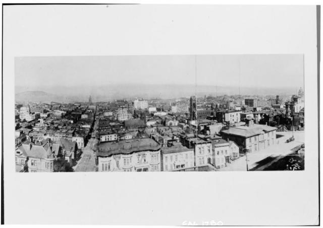Sacramento Street, Historic View, San Francisco, San Francisco County, CA
