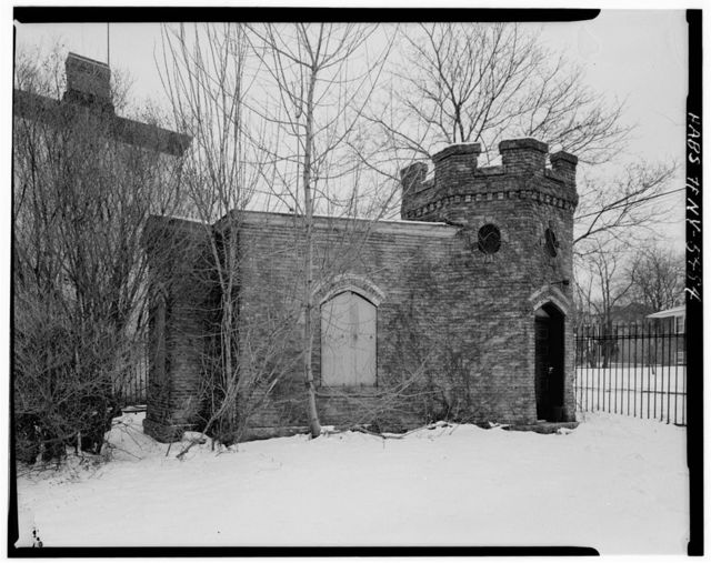 Sailors' Snug Harbor, East Gatehouse, Richmond Terrace, New Brighton, Richmond County, NY