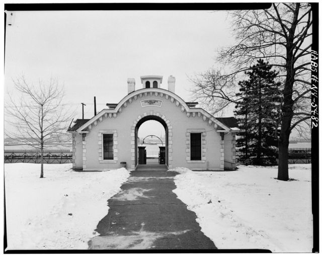 Sailors' Snug Harbor, North Gatehouse, Richmond Terrace, New Brighton, Richmond County, NY