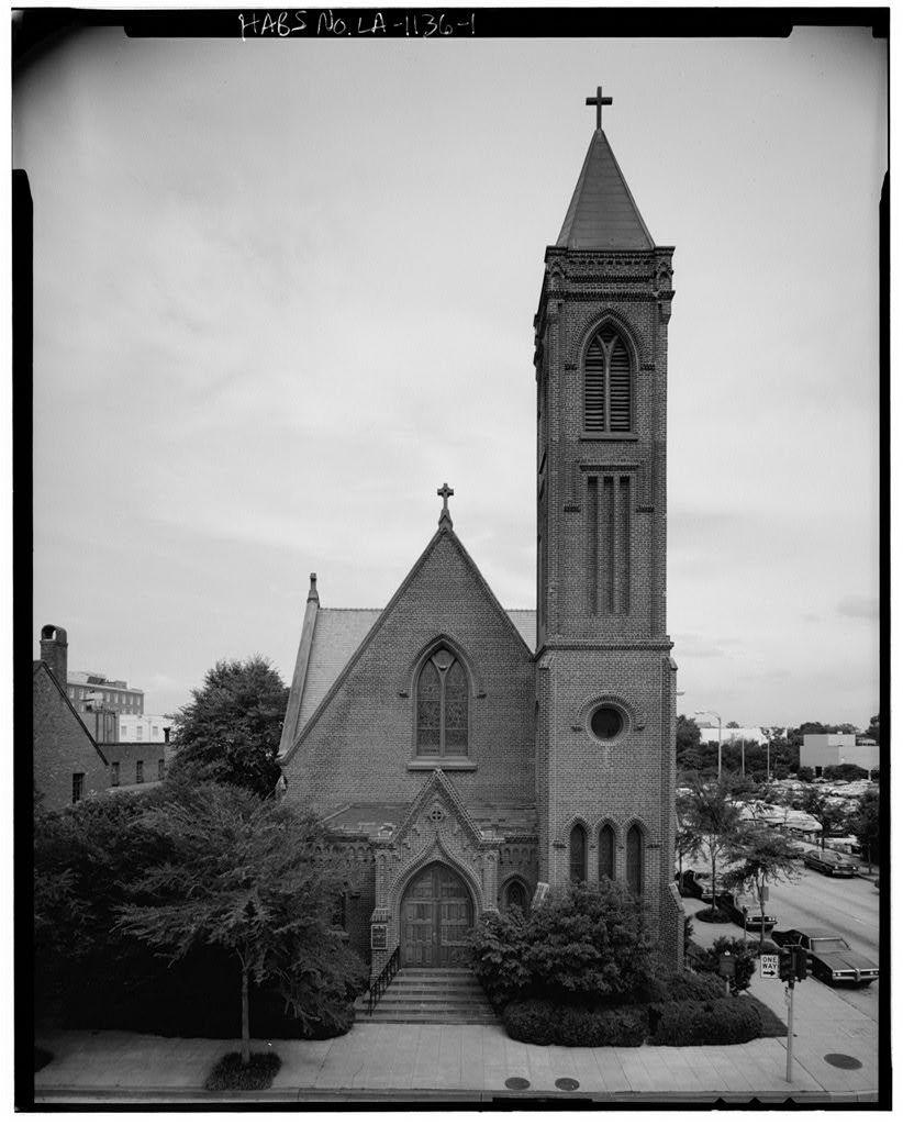 Saint James Episcopal Church, 208 North Fourth Street, Baton Rouge, East Baton Rouge Parish, LA