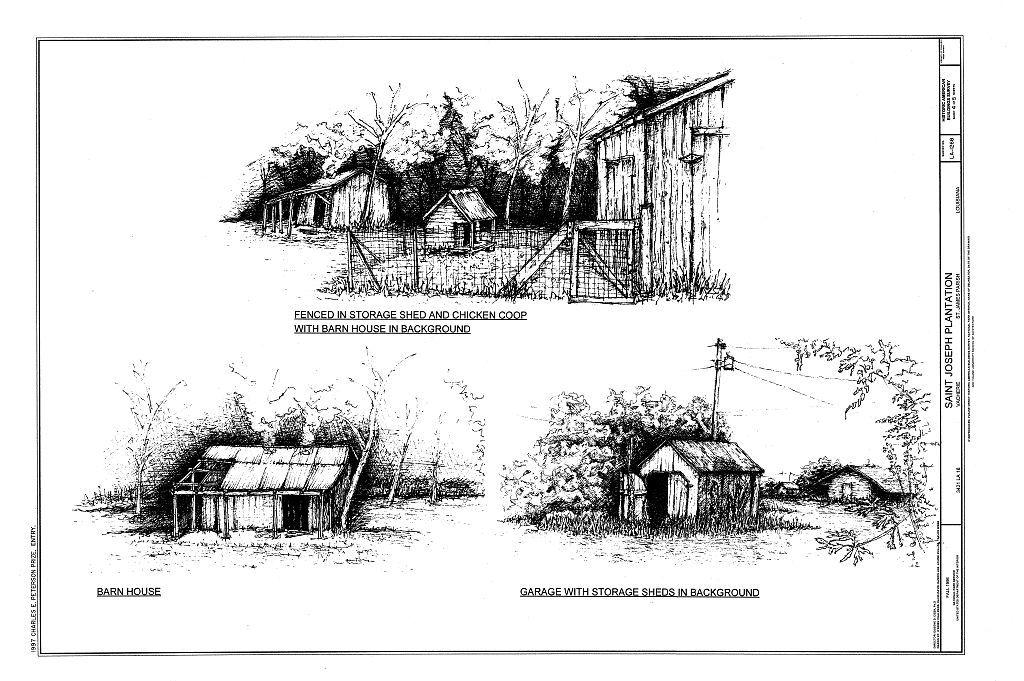 Saint Joseph Plantation, 3421 State Route 18, Vacherie, St. James Parish, LA