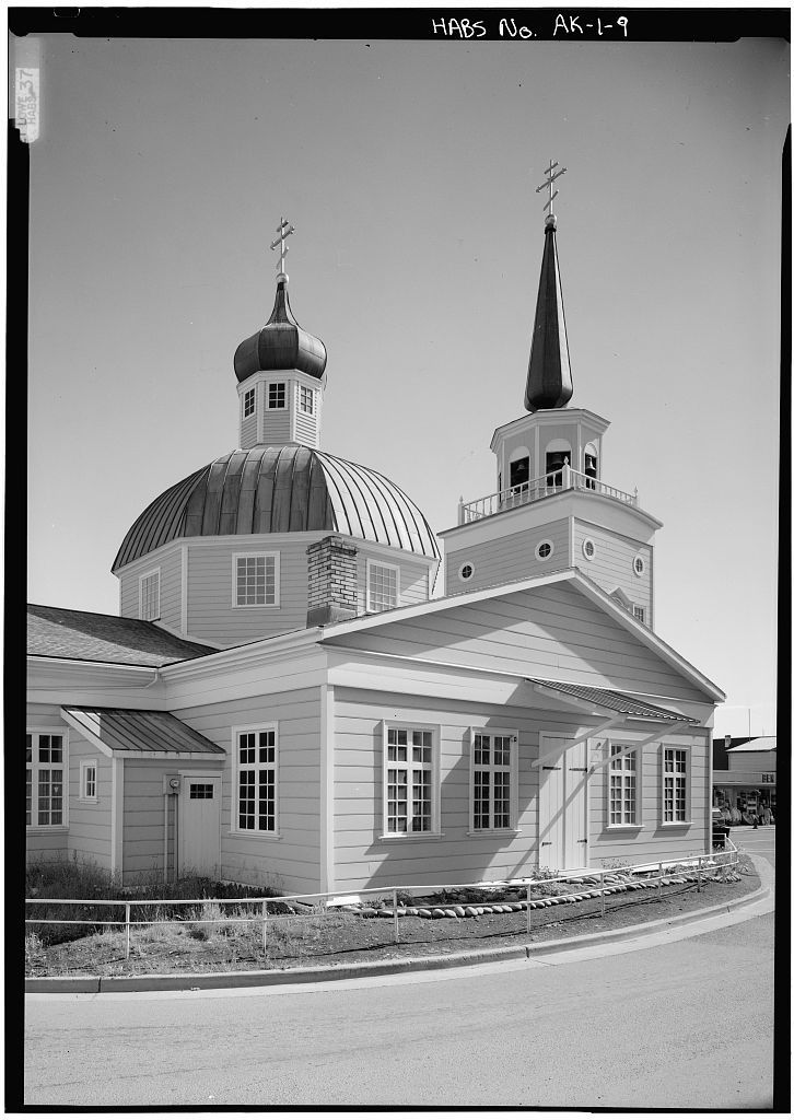 Saint Michael's Cathedral, Lincoln Street, Sitka, Sitka Borough, AK