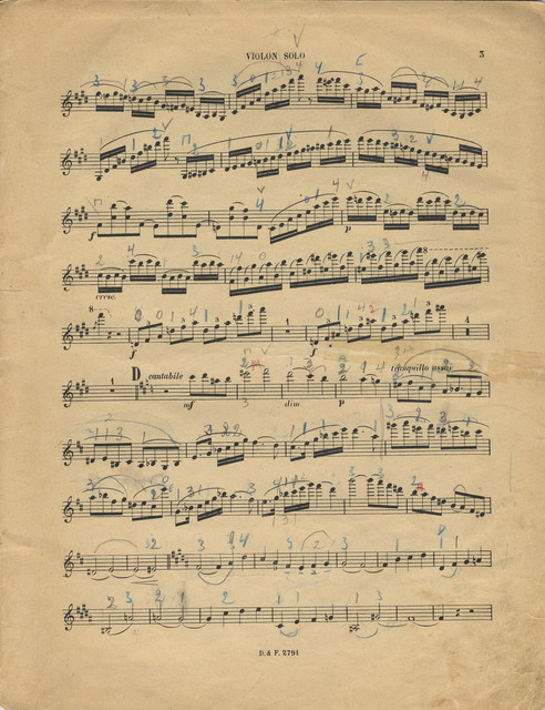 Saint-Saëns, Camille. Concerto for Violin and Orchestra, No. 3, Op. 61, B Minor