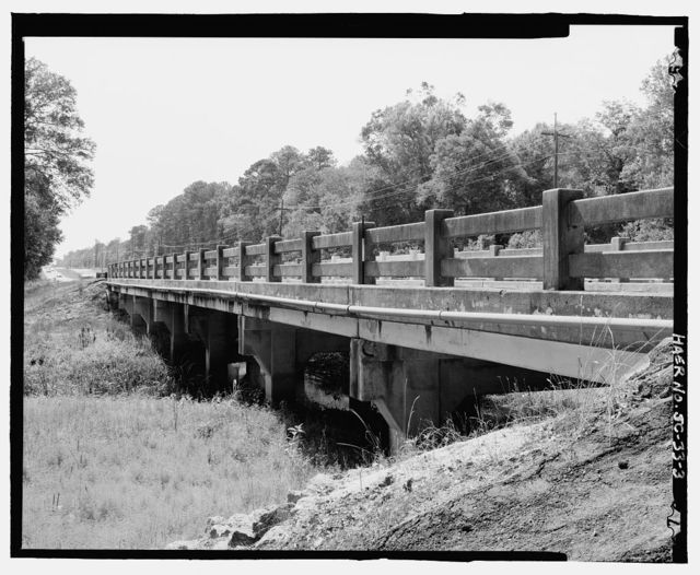 Salkehatchie Bridge, State Route No. 64 spanning Salkehatchie River, Barnwell, Barnwell County, SC