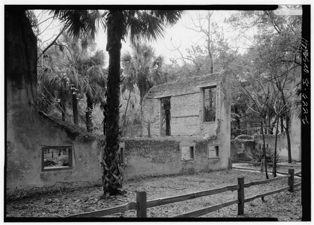 Sams Tabby Complex (Ruins), Mink's Point, at the south end of Datha Island, Beaufort, Beaufort County, SC
