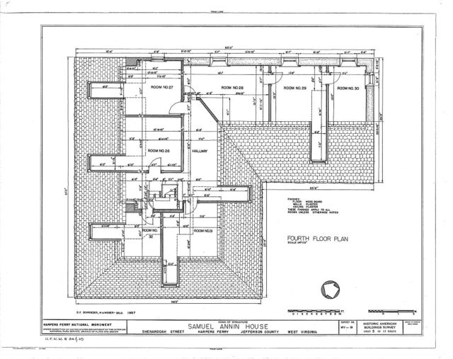 Samuel Annin House, Shenandoah Street, Harpers Ferry, Jefferson County, WV