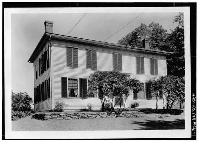 Samuel C. Allen House, South Main Street, New Salem, Franklin County, MA
