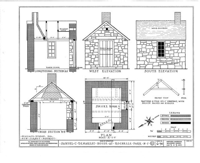Samuel C. Demarest House, 12 Rochelle Avenue, Rochelle Park, Bergen County, NJ