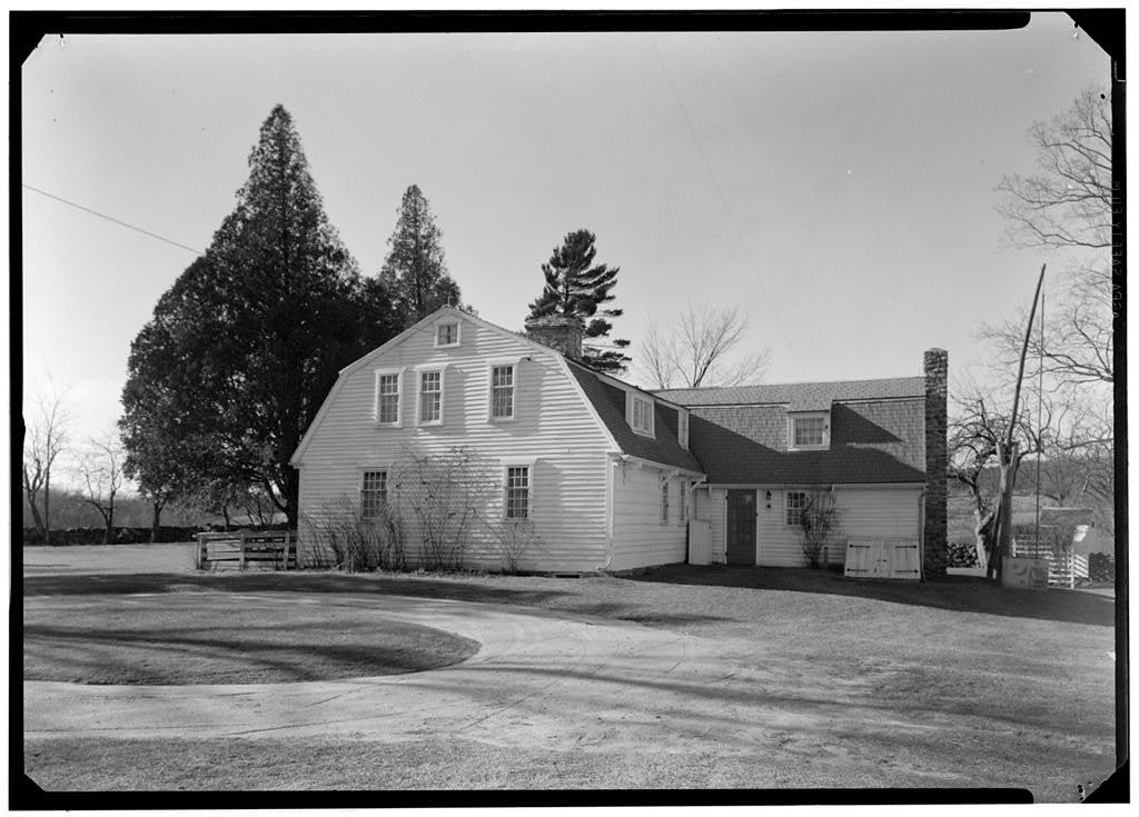 Samuel Clarke House, Lewiston Avenue, Kenyon, Washington County, RI