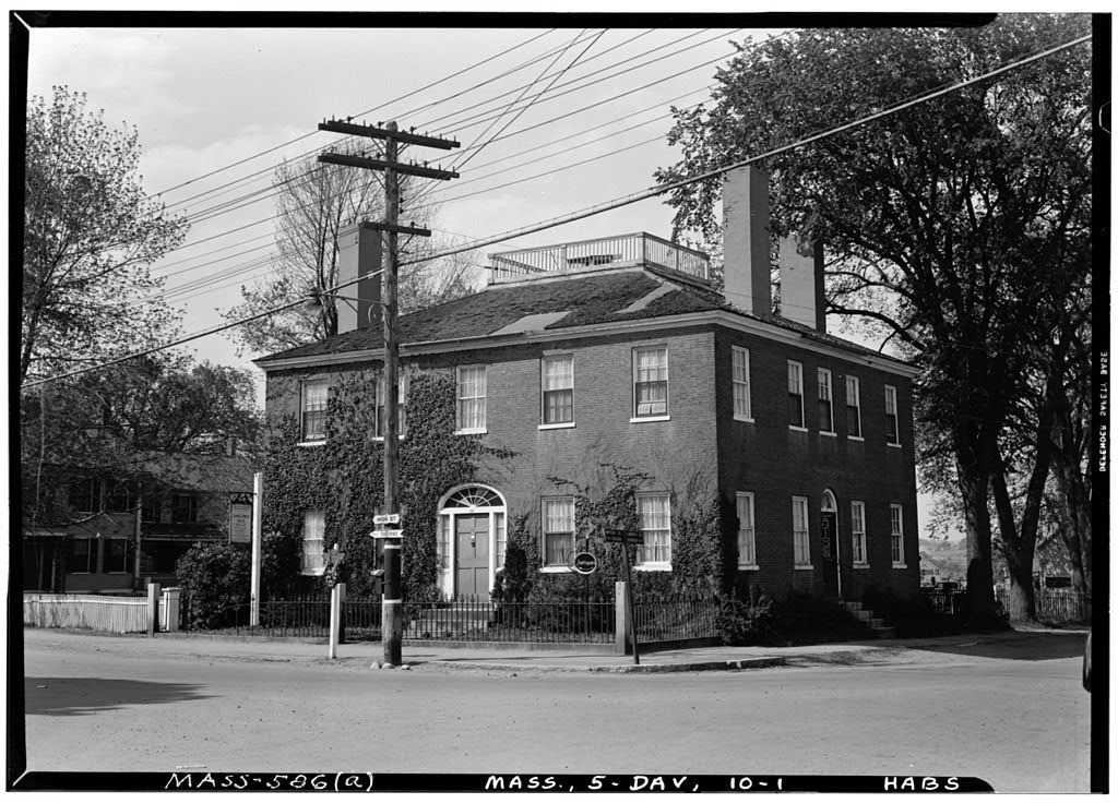 Samuel Fowler House, 166 High Street, Danvers, Essex County, MA