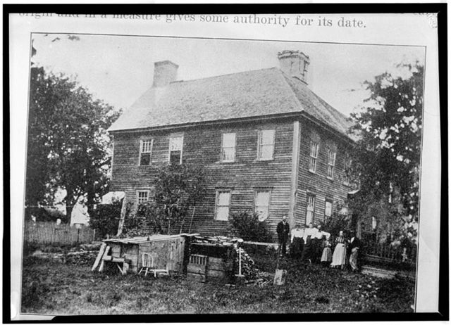Samuel Phillips House, Tower Hill Road (U.S. Route 1), Belleville, Washington County, RI