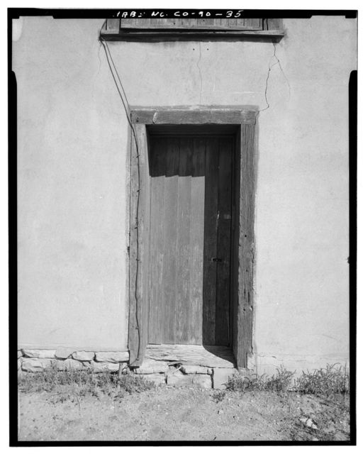 Samuel T. Brown's Sheep Ranch, Horse Barn, 170 feet northeast of main residence, Model, Las Animas County, CO