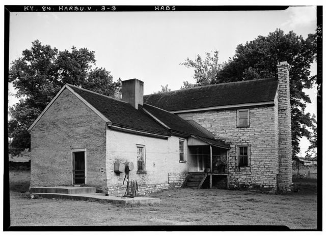 Samuel Taylor House, Chatham Pike, Harrodsburg, Mercer County, KY