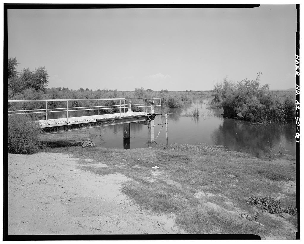 San Carlos Irrigation Project, Picacho Resevoir, South of Gila River, Coolidge, Pinal County, AZ