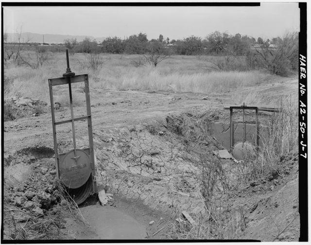 San Carlos Irrigation Project, San Tan Flood Water Canal, North Side of Gila River, Coolidge, Pinal County, AZ
