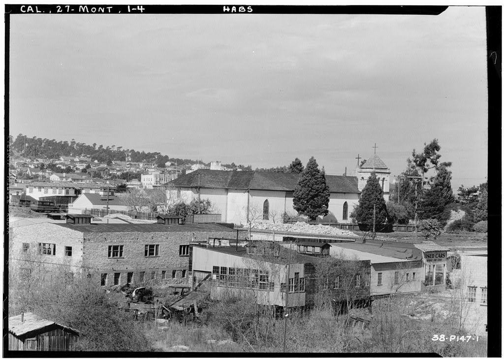 San Carlos Presidio Church, 550 Church Street, Monterey, Monterey County, CA