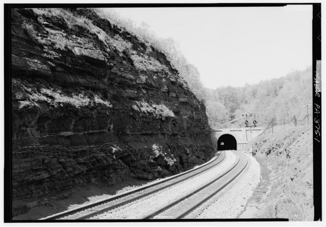 Sand Patch Tunnel, Northeast of State Route 2006, Sand Patch, Somerset County, PA