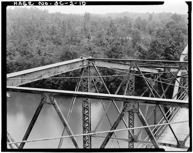 Sanders Ferry Bridge, State Highway 184, Spanning Savannah River, Iva, Anderson County, SC