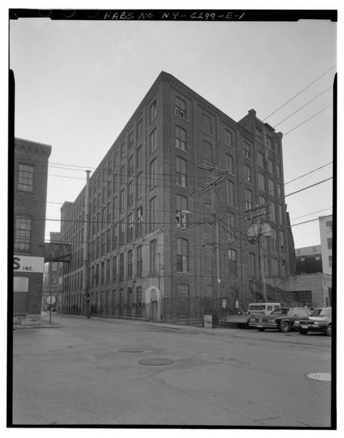 Sanford Carpet Company, Building 50, South side of Prospect Street, west side of Church Street, Amsterdam, Montgomery County, NY