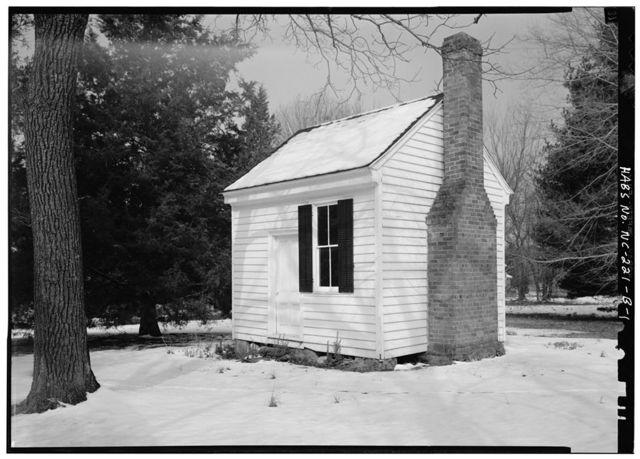 Sans Souci, William Cain Office, East Corbin Street (formerly North Street), Hillsborough, Orange County, NC