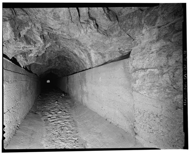 Santa Ana River Hydroelectric System, Abandoned Tunnel, Redlands, San Bernardino County, CA