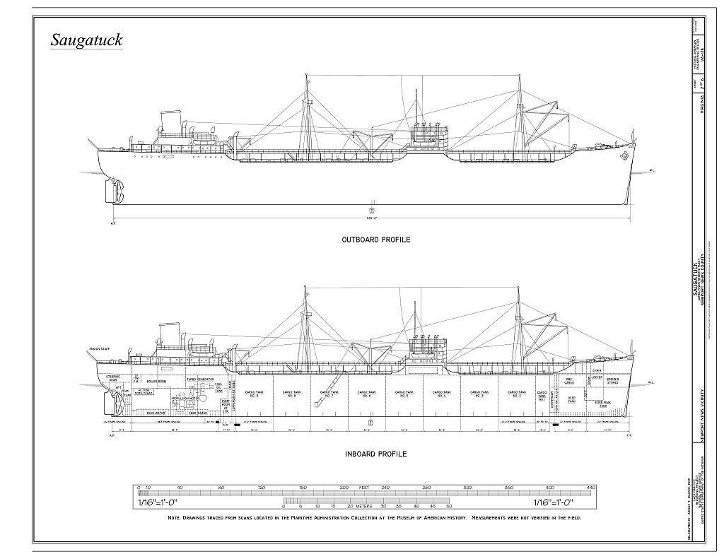 Saugatuck, James River Reserve Fleet, Newport News, Newport News, VA