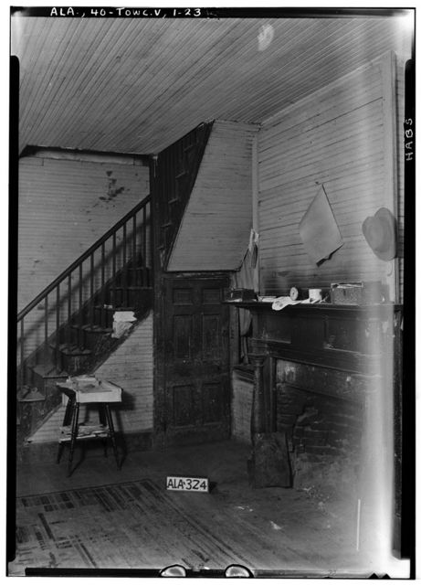 Saunders-Goode-Hall House, State Highway 101, Town Creek, Lawrence County, AL