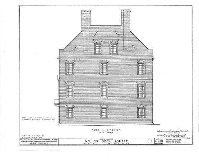 Savage House, 30 Dock Square, Boston, Suffolk County, MA