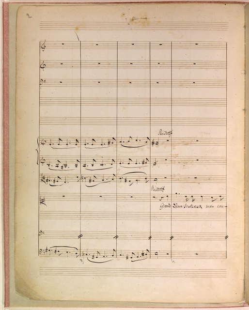 Scène d'Alceste [Alceste, by Christoph Willibald Gluck]