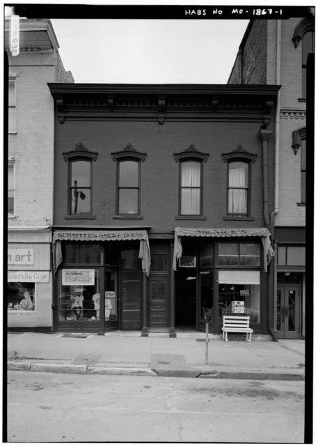 Schaffer's Smoke House, 308 Broadway, Hannibal, Marion County, MO