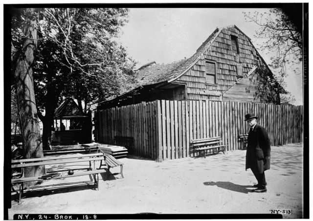 Schenck House, Canarsie Park (fragments in Brooklyn Museum), Brooklyn, Kings County, NY