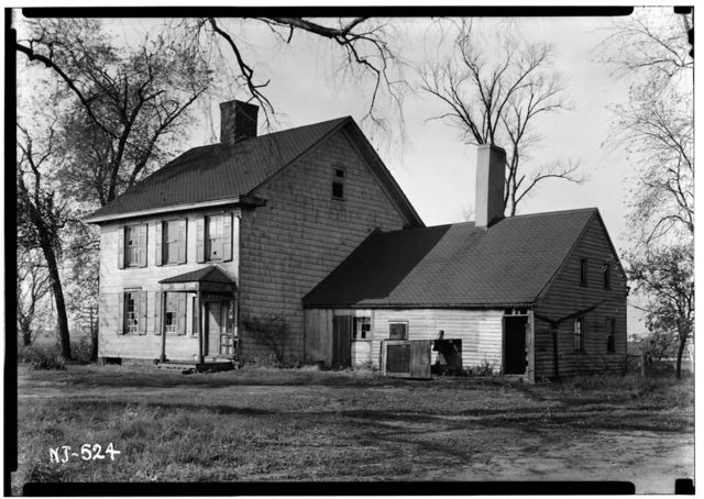 Schenck-Polhemus House, Easton Turnpike Road, Bound Brook, Somerset County, NJ