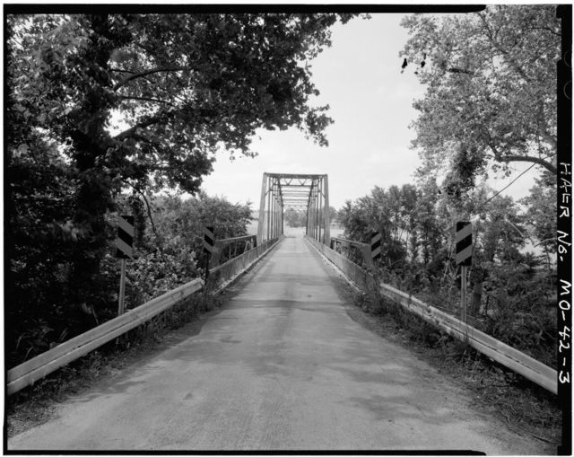 Schneider's Ford Bridge, Spanning Moreau River on Bald Hill Road, Jefferson City, Cole County, MO