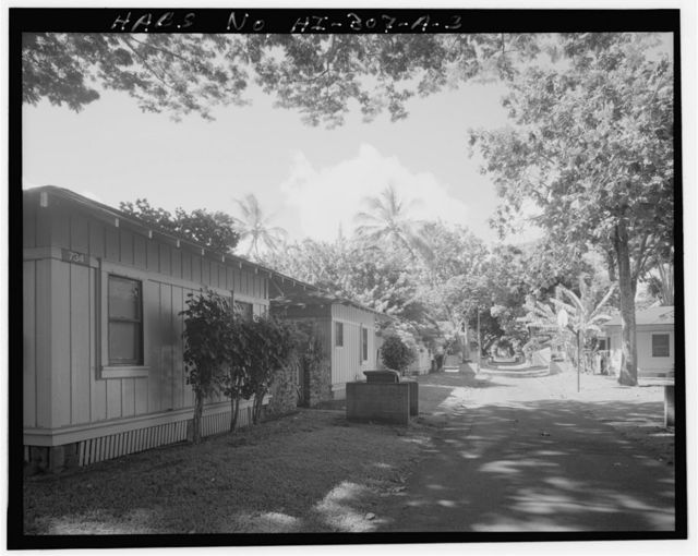 Schofield Barracks Military Reservation, Central-Entry Single-Family Housing Type, Between Bragg & Grime Streets near Ayres Avenue, Wahiawa, Honolulu County, HI