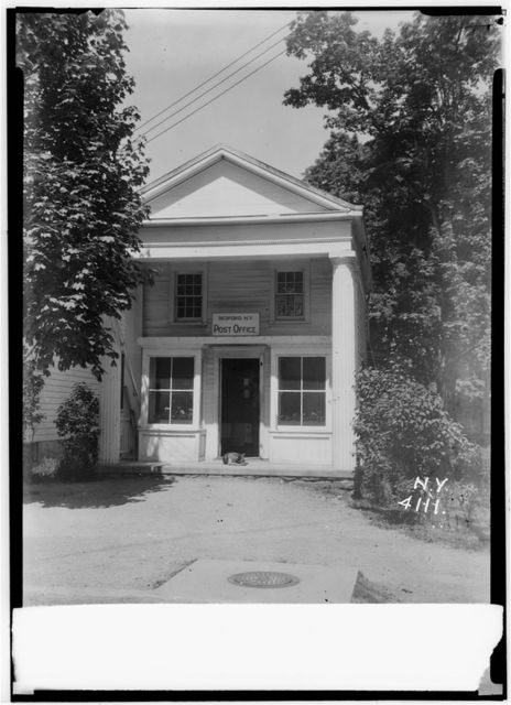 Schoolhouse & Post Office, Bedford Green, Bedford, Westchester County, NY