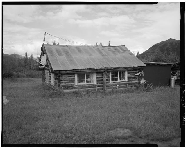 Schoolhouse, Koyukuk River, Bettles vicinity (moved from Coldfoot), Wiseman, Yukon-Koyukuk Census Area, AK