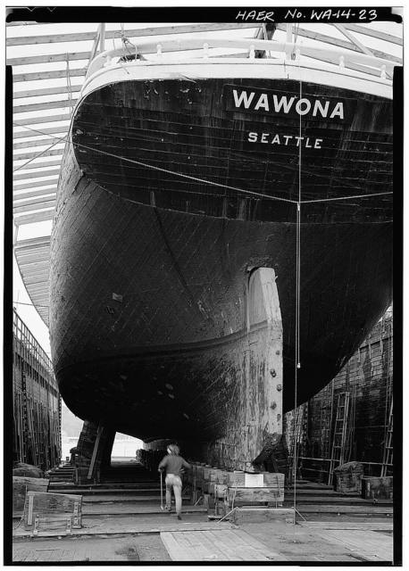 Schooner WAWONA, 1018 Valley Street, Seattle, King County, WA
