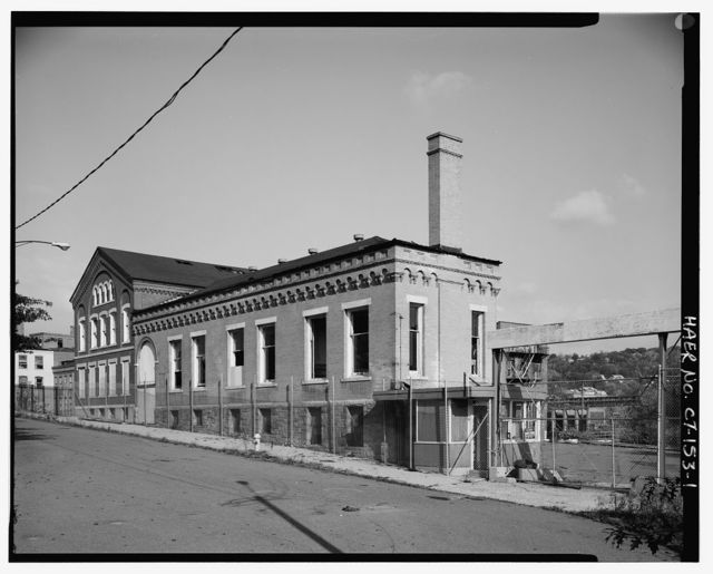 Scovill Brass Works, 59 Mill Street, Waterbury, New Haven County, CT